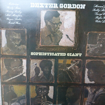 Jazz Lp Vinyl DEXTER GORDON - SOPHISTICATET GIANT