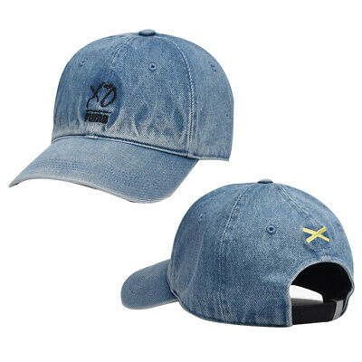 Puma x The Weeknd XO Denim Blue Cap Unisex Adults Hat 021611 01 A24