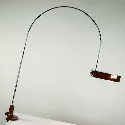 Bogen Leuchte Spider Joe Colombo Design Oluce Tisch Lampe Vintage 60er