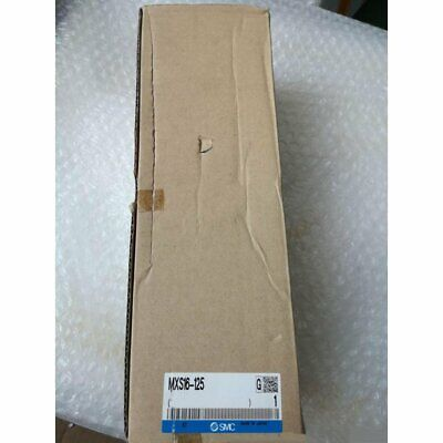 One New Smc Mxs16-125 Pneumatic Slide Cylinder In Box Spot Stock