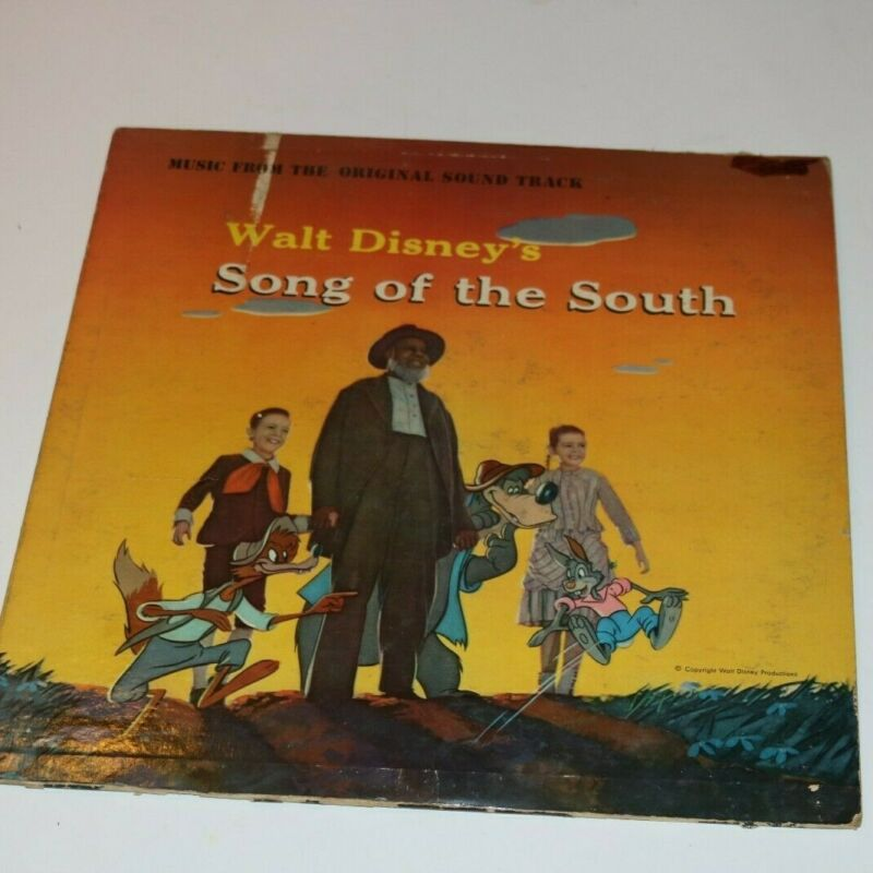 Music From The Origina Soundtrack Walt Disneys Songs Of The South Yellow Label