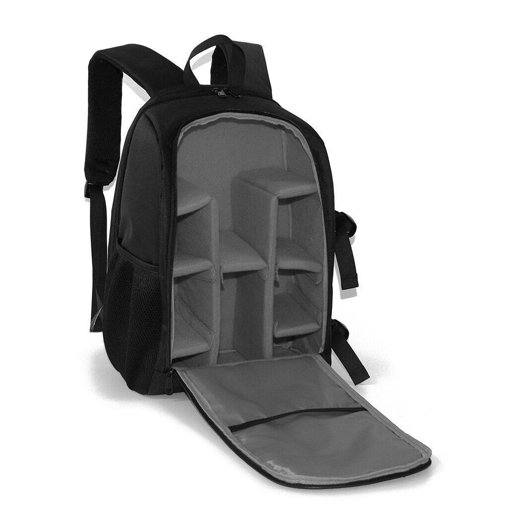 Waterproof Multi-function DSLR Camera Shoulder Bag Backpack Case For Canon&Nikon