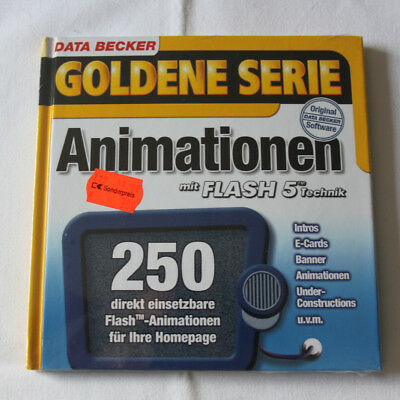 Goldene Serie - Animationen mit Flash 5? Technik - CD-ROM Software DATA BECKER