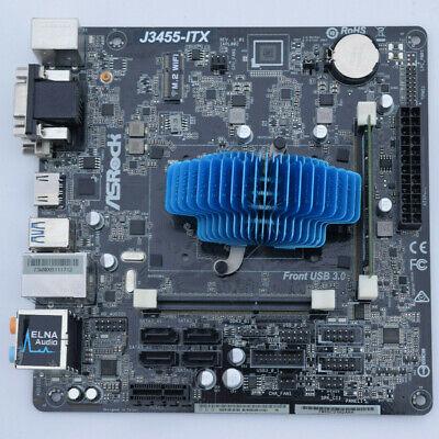 ASRock J3455-ITX Motherboard Intel Celeron Quad J3455 2.3GHz DDR3 Mini ITX PCIe Celeron Pcie Motherboard