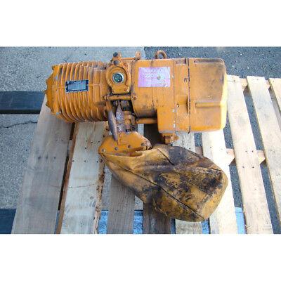 Harrington 1 Ton Electric Chain Hoist 220440v 3ph 60hz Es3-6689