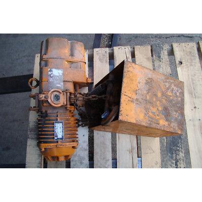Harrington 1 Ton Electric Chain Hoist 220440v 3ph 60hz Es3-5639