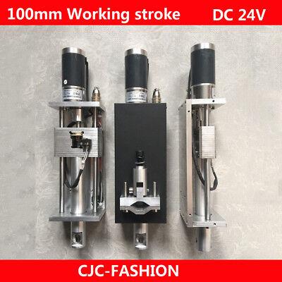Portable Plasma Flame Cnc Cutting Machine Z Axis Torch Lifter Holder 100mm Dc24v