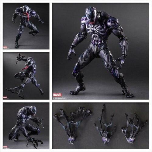 Play Arts Kai VARIANT Marvel Venom 6'' Action Figure Toy Dol