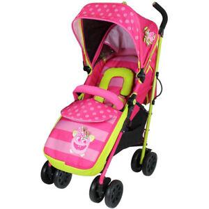 Baby Stroller Buggy Pram Pink Optimum Mea Lux