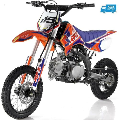 2020 Apollo DB X15 125cc Dirt Bike Manual Transmission Youth bike Free Shipping