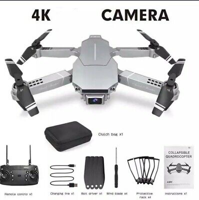 ✅E68 1080P/4K RC Drone 4-Axis Aircraft Foldable WiFi FPV HD Camera FastShipping✅