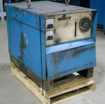 Miller Dc Arc Welder Cv Mig Power Source 208230460v 3-phase Cp-250ts