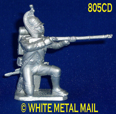 Napoleonic Casting 805CD 1:32 Scale Dragoon Infantry Kneeling Firing Conversion