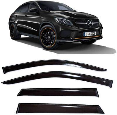Für Mercedes Gle Coupe (C292) 2015-2019 Fenster Visiere Regen Schutz Belüftung