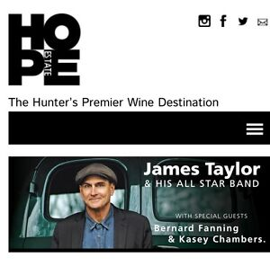 James Taylor, Bernard Fanning & Kasey Chambers 2 tickets for sale Mayfield West Newcastle Area Preview