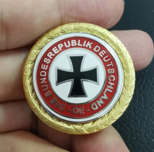 WWII Deutschland Third Rich Badge Pin German Iron Cross Military Medal Replica