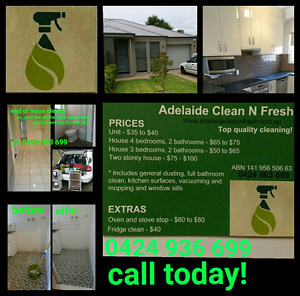 Great cleaning at affordable prices! Huntfield Heights Morphett Vale Area Preview