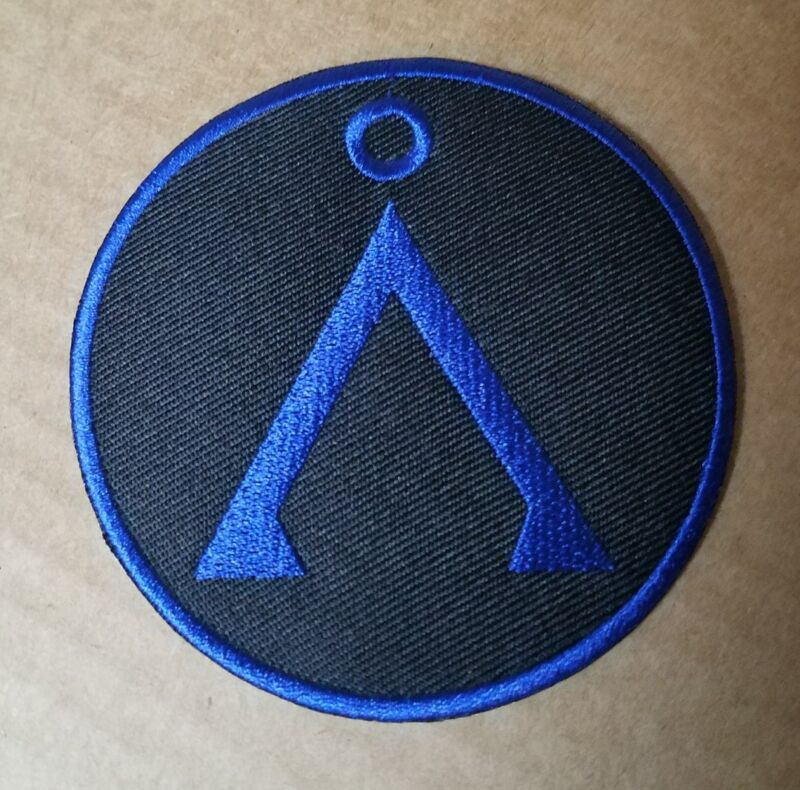 Stargate SG-1 Round Earth Symbol Patch 3 inches wide
