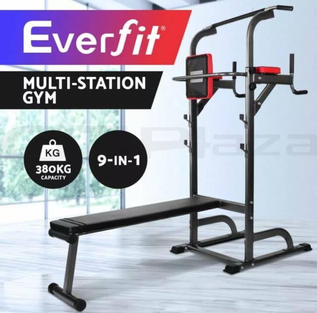 Multi Function Gym Station Bench Press Brand New Gym
