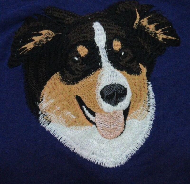 Embroidered Fleece Jacket - Australian Shepherd I1242 Sizes S - XXL