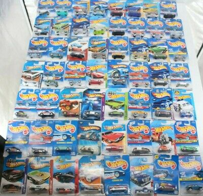 Hot Wheels Mixed Lot Of 56 Multiple Series Various Models Die Cast Cars New