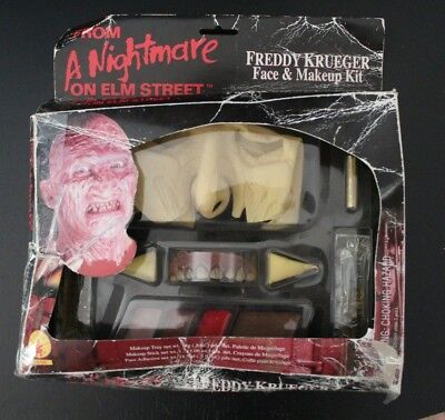 Freddy Krueger Face and Makeup Kit (Halloween or Cosplay) DAMAGED - Halloween Makeups For Men