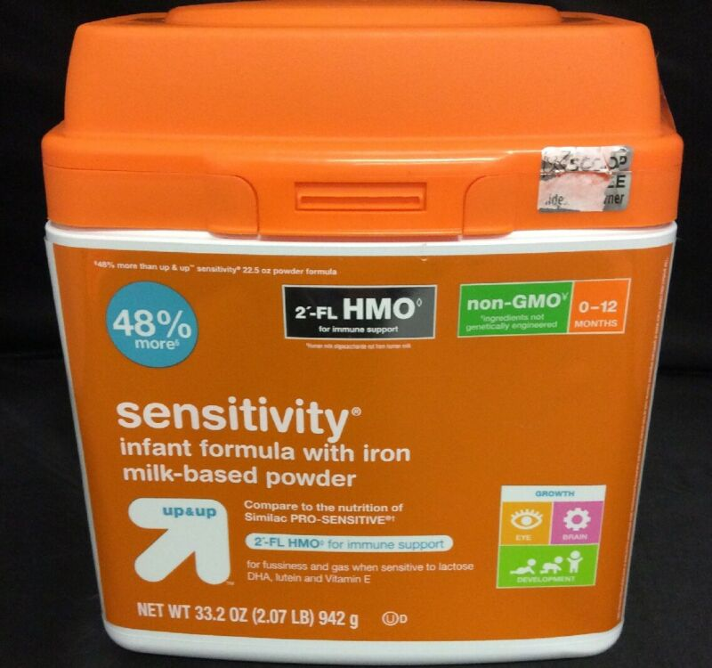 Sensitivity Infant Formula With Iron- 33.2 oz.