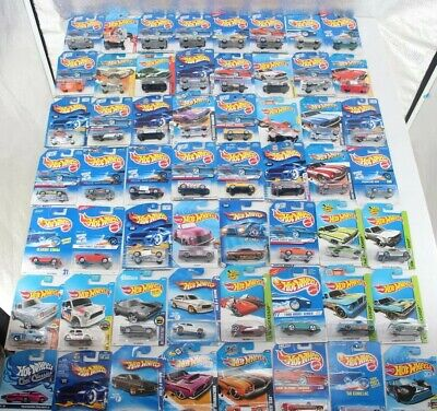 Hot Wheels Various Models Multiple Series Mixed Lot Of 56 Die Cast Cars New
