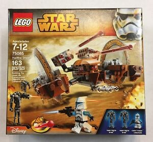 Lego-Star-Wars-Hailfire-Droid-75085-Brand-New-and-Sealed