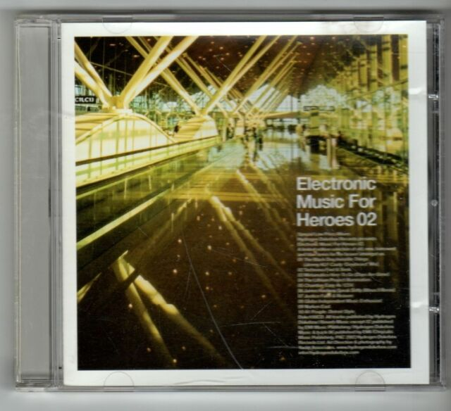 (GX957) Electronic Music For Heroes 02, 10 tracks various artists - 2002 CD