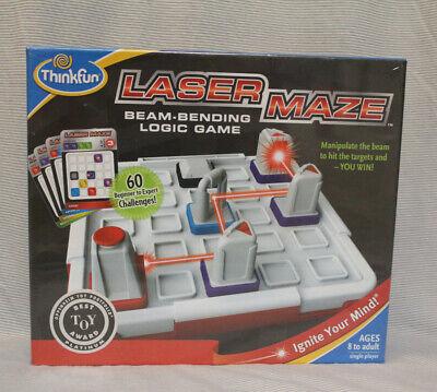 Laser Maze Game (Laser Maze Logic Game w/ Real Lazer 60 challenges Beginner-Brand New In)