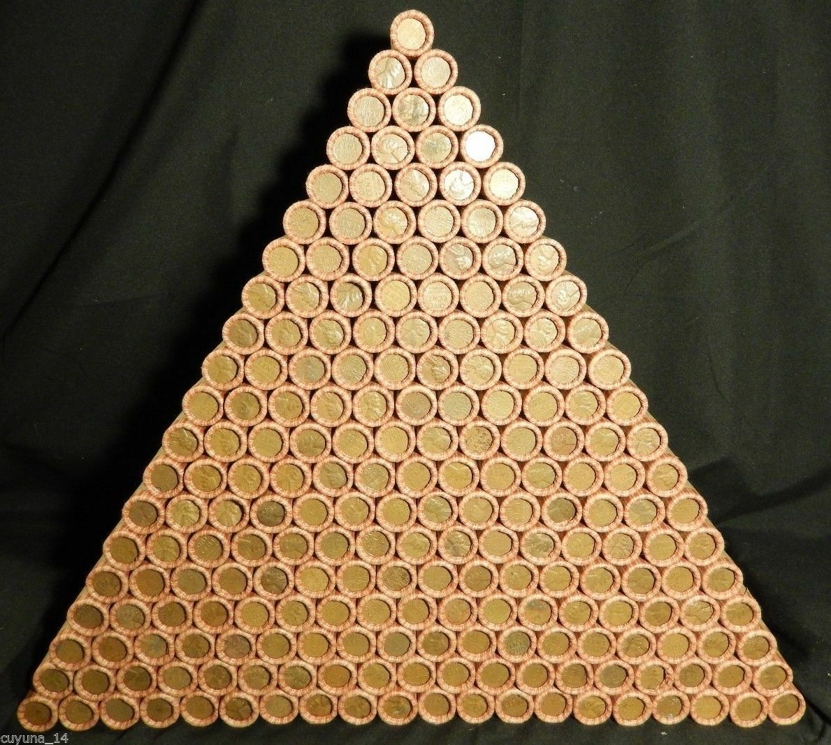 Unopened US Lincoln Wheat Cent Roll Hay Penny Lot Old US Coins 1909-1958 P D S