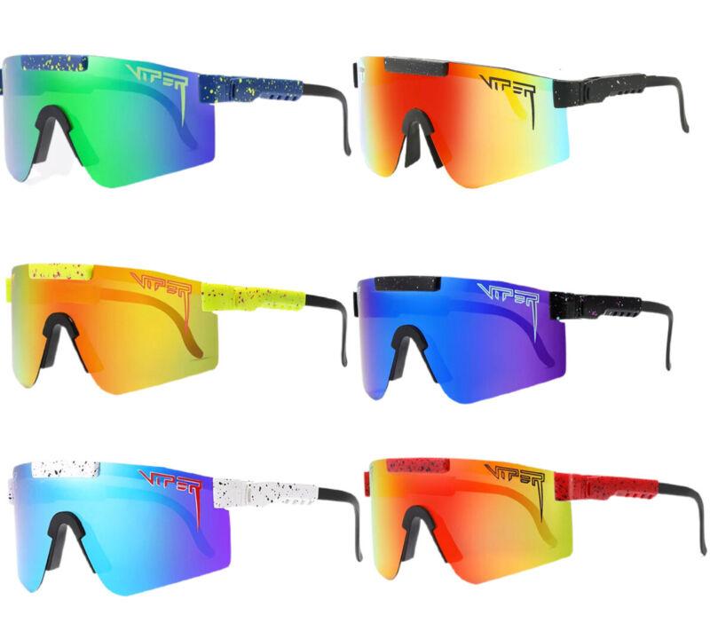 Polarized UV400 Sport Sunglasses Men & Women Windproof Outdoor Activities