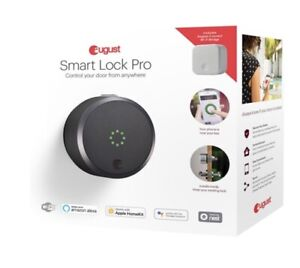 August Smart Lock pro + Connection 3rd generation (brand new)