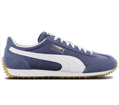 Puma Whirlwind Classic Sneaker 351293-87 Blue Shoes Retro Fashion Trainers New
