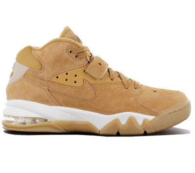 Nike Air Force Max PRM Premium Herren Sneaker Leder Schuhe Braun 1 315065 200 (Max Braun)