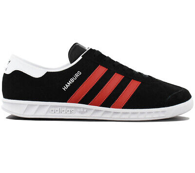 Adidas Originals Hamburg Men's Sneaker Shoes Black BB5300 Trainers New