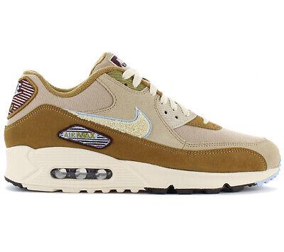 Nike Air Max 90 Premium SE - Varsity Pack - 858954-200 Herren Sneaker Schuhe NEU - Varsity Herren Schuhe