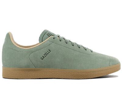 adidas Originals Gazelle Leather Decon Sneaker CG3705 Schuhe Turnschuhe Grün NEU