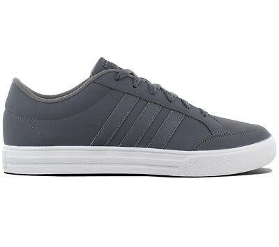 adidas VS Set Herren Sneaker Schuhe Grau Turnschuhe Skaterschuhe B43892 NEU