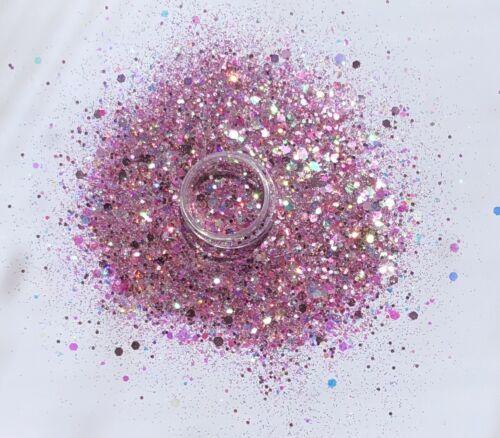 Glitzer Mix Irisierend, Festival Glitter, Festival Glitzer, Nail Art, 7 Gramm