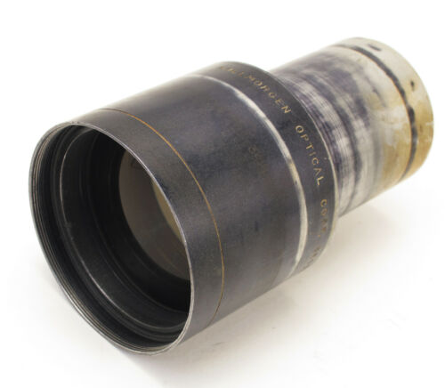Kollmorgen 4.75 inch f/2.0 Snaplite Series II 35mm Projection Cine Movie Lens