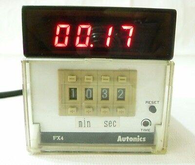 Fx4 Autonics Digital Counter Timer 100 - 240vac