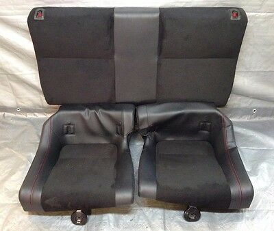 2013-2016 Subaru BRZ / Scion FRS FR-S Rear Seats, Leather w/ Alcantara