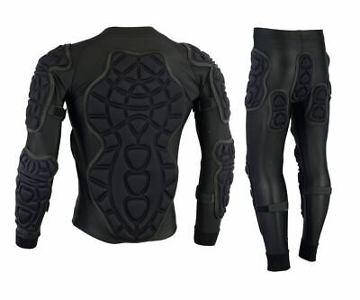 BODY ARMOUR MOTORBIKE MOTORCYCLE MOTOCROSS SKIING SPINE GUARD PROTECTIVE SUIT
