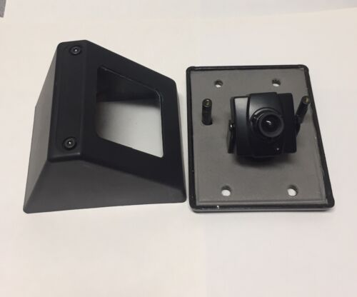 Weatherproof Fake Security Camera Built-in Miniature Box Camera Case with Lens