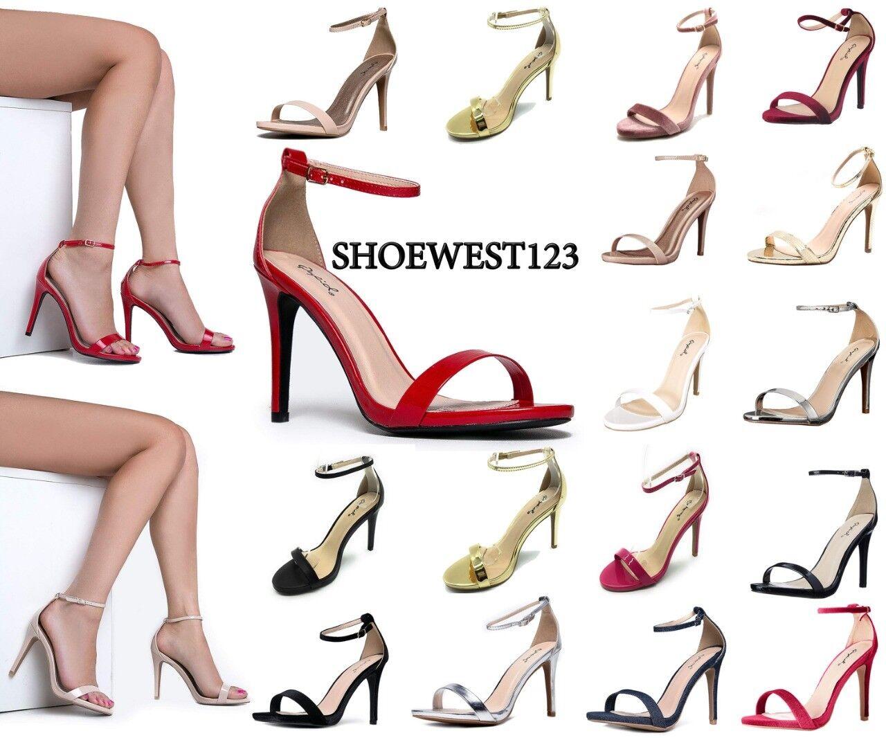 New Qupid Sexy Open Toe Women Pump Shoes Grammy-01 High Heel