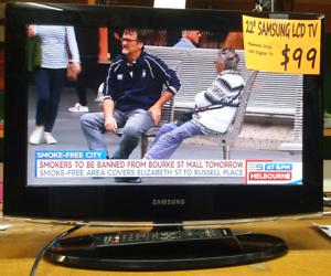 "22"" Samsung LCD TV Bendigo Bendigo City Preview"