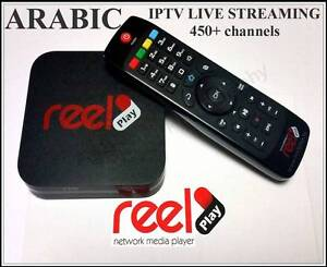 ARABIC IPTV STREAMING LIVE 450+ CHANNELS REELPLAY TV  HD 110 Five Dock Canada Bay Area Preview
