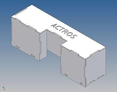 AE: Elektronikbox  für TAMIYA Mercedes Actros (M 1:14,5)
